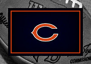Chicago Bears Posters - Chicago Bears Poster by Joe Hamilton