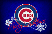 Chicago Baseball Prints - Chicago Cubs Print by Joe Hamilton