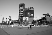 Phillies Posters Framed Prints - Citizens Bank Park - Philadelphia Phillies Framed Print by Frank Romeo
