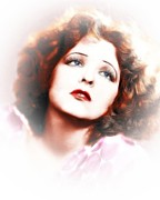 Clara Prints - Clara Bow  Print by Stefan Kuhn