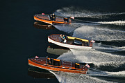 Chris Craft Photos - Classic Chris-Craft by Steven Lapkin