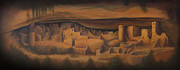 Pueblo People Framed Prints - Cliff Palace Framed Print by Jerry McElroy