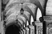 Arequipa Prints - Cloisters Print by James Brunker