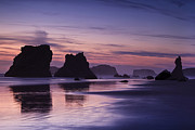 Bandon Beach Posters - Coastal Reflections Poster by Andrew Soundarajan
