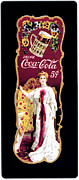 Coke Bottle Prints - Coca - Cola Vintage Poster Print by Sanely Great