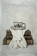 Period Framed Prints - Coffee Time Framed Print by Joana Kruse