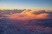 View From Above Art - Colorful Clouds by Brian Jannsen