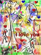 Colorful Day Print by Catalina Lira