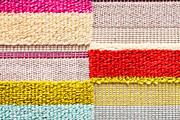 Colorful Textile Print by Tom Gowanlock