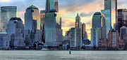 Freedom Tower Prints - Colors Print by JC Findley