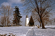 Concord Photo Framed Prints - Concord Point Lighthouse Framed Print by Skip Willits