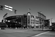 Blue Bricks Prints - Coors Field - Colorado Rockies Print by Frank Romeo