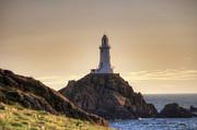 Corbiere Lighthouse - Jersey Print by Joana Kruse