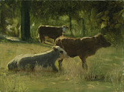 John  Reynolds - Cows In The Sun
