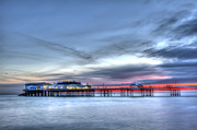 Amusements Art - Cromer Pier At Sunrise On English Coast by Fizzy Image