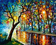 Dark Night Print by Leonid Afremov