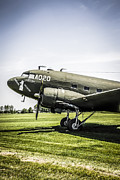 Dc-3 Plane Framed Prints - Dc-3 Framed Print by Chris Smith