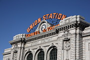 Attractions Photography Prints - Denver - Union Station Print by Frank Romeo