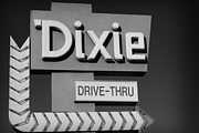 Nostalgic Photos - Dixie Drive Thru by Kelly Hazel