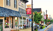 Dale Cooper Photo Prints - Downtown Waterville Print by Jack Schultz