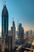 Dubai Skyline Print by Fototrav Print