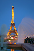 Trocadero Photos - Eiffel Tower by Brian Jannsen