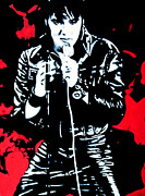 Scotty Prints - Elvis Print by Luis Ludzska