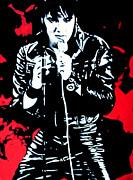 Elvis Print by Luis Ludzska