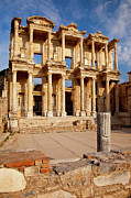 Ephesus Framed Prints - Ephesus Turkey Framed Print by Brian Jannsen