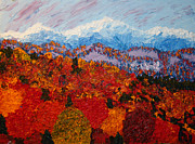 Vermont Autumn Originals - Fire and Ice by BJ Tuininga