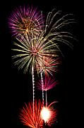 Fireworks  Print by Saija  Lehtonen