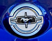 Ford Mustang Emblem Print by Jill Reger