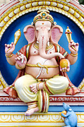 Religious Statues Prints - Ganesha Print by Tim Gainey