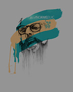 Historical Digital Art - Ginsberg by Pop Culture Prophet