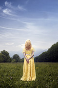 Blond Photos - Girl On Meadow by Joana Kruse