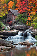 Grist Mill Art - Glade Creek Grist Mill  by Emmanuel Panagiotakis