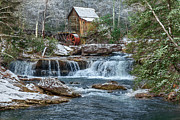 Mary Almond Art - Glade Creek Grist Mill by Mary Almond