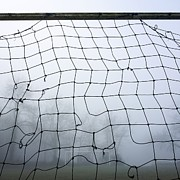 Meshed Photo Posters - Goal Poster by Bernard Jaubert