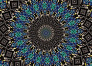 Tag Digital Art - Graffiti - Galaxee Kaleidoscope by Graffiti Girl