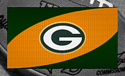 Green Bay Prints - Green Bay Packers Print by Joe Hamilton