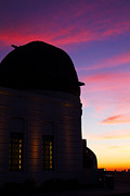 Griffith Metal Prints - Griffith Observatory in Los Angeles Hollywood California at Suns Metal Print by ELITE IMAGE photography By Chad McDermott
