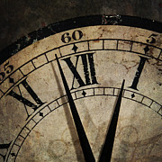 ELITE IMAGE photography By Chad McDermott - Grunge old Clock showing...