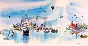 Navy Paintings - Happy Memories by John YATO
