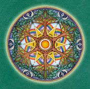 Jo Thomas Blaine - Heaven and Earth Mandala