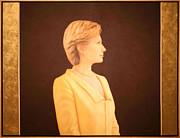 Hillary Rodham Clinton Print by Cora Wandel