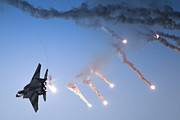 F-15 Prints - IAF F-15I Fighter in flight Print by Nir Ben-Yosef