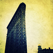 Nyc Digital Art Metal Prints - Iconic Architecture Metal Print by Natasha Marco