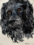 Spaniels Paintings - Jack by Lil Taylor