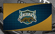 Jaguars Photo Framed Prints - Jacksonville Jaguars Framed Print by Joe Hamilton