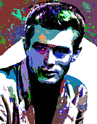 Star Posters - James Dean Poster by Allen Glass